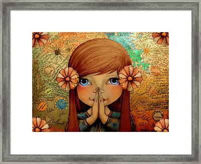 Greetings Framed Print by Karin Taylor