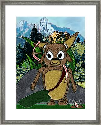 Greetings Framed Print by NightVisions