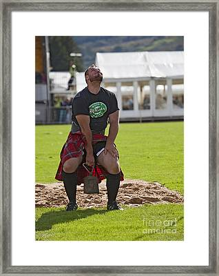 Gregor Edmunds  Highland Games Framed Print