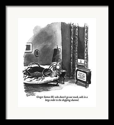 And Go Out Framed Prints