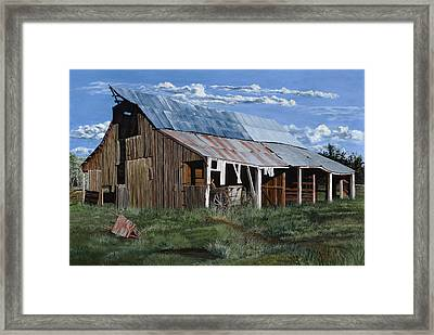 Greive's Barn Framed Print
