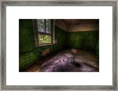 Green Room Framed Print