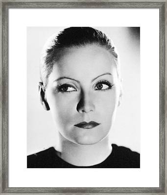 Greta Garbo In Mata Hari  Framed Print by Silver Screen
