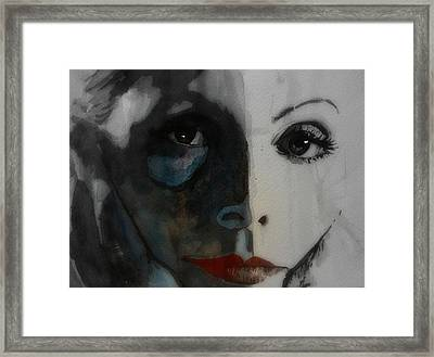 Greta Garbo Framed Print by Paul Lovering