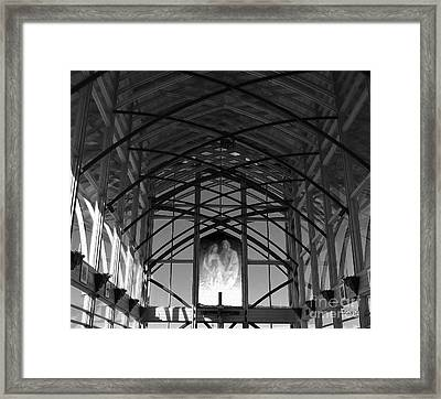 Framed Print featuring the photograph Gretna Holy Family Shrine by Ecinja Art Works