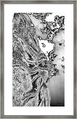 Grey Skies  Framed Print by Rebecca Flaig