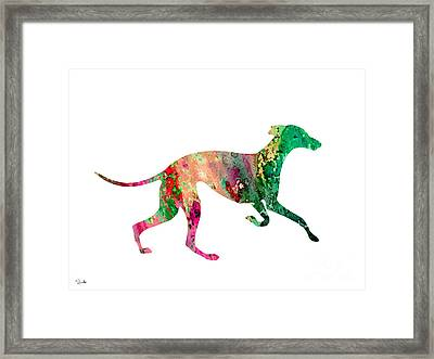 Greyhound 2 Framed Print by Luke and Slavi