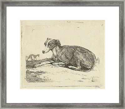 Greyhounds, Print Maker Jan Dasveldt Framed Print by Artokoloro