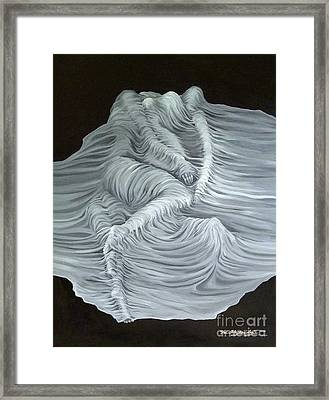 Greyish Revelation Framed Print by Fei A