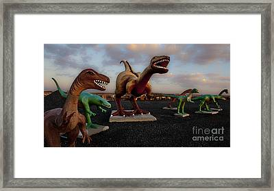 Grey's Rock Shop Framed Print