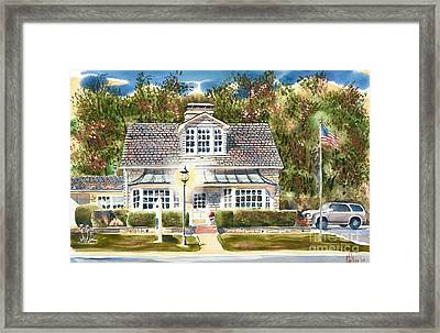 Greystone Inn II Framed Print by Kip DeVore