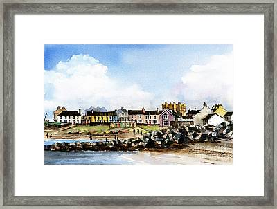 Greystones North Beach  Wicklow Framed Print