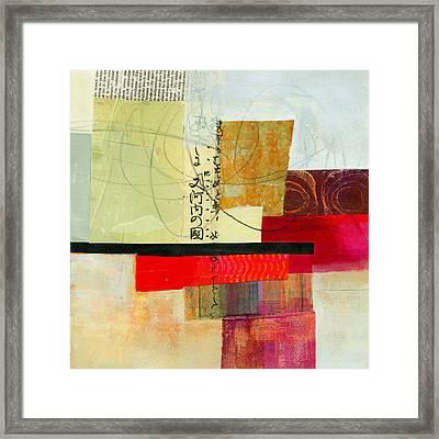 Grid 2 Framed Print by Jane Davies