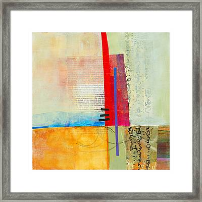Grid 3 Framed Print by Jane Davies