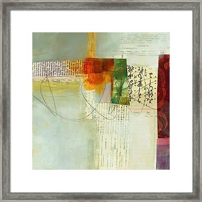 Grid 6 Framed Print by Jane Davies
