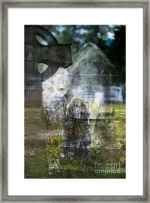 Grief In Multiples Framed Print
