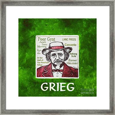 Grieg Framed Print by Paul Helm