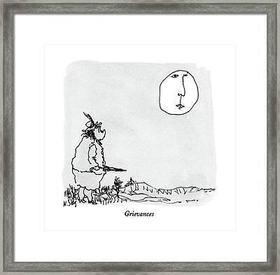Grievances Framed Print