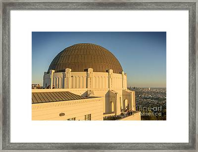 Griffifth Observatory Dome Framed Print