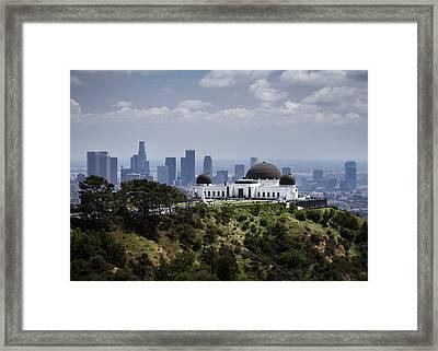 Griffith Observatory Framed Print by Eduard Moldoveanu