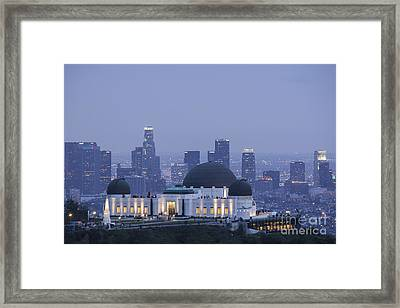 Griffith Observatory Los Angeles Framed Print