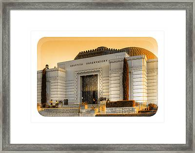 Griffith Observatory - Mike Hope Framed Print