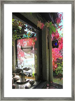 Griff's Antiques Framed Print