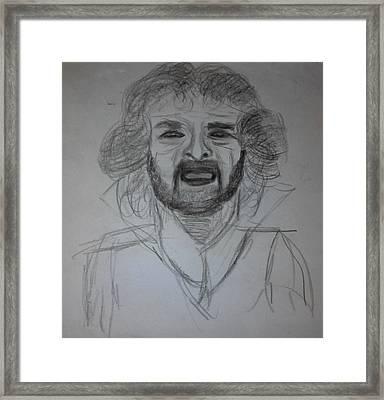 Grillo Framed Print by Daniele Fedi