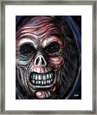 Grim Reaper Framed Print by Jack Joya