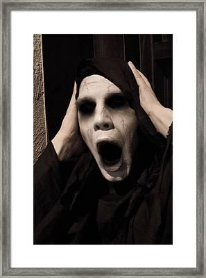 Grim Reaper Pt. 3 Framed Print by Kyle Rea