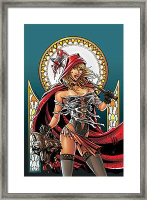 Grimm Fairy Tales 01 Framed Print