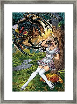 Grimm Fairy Tales 16 Framed Print by Zenescope Entertainment