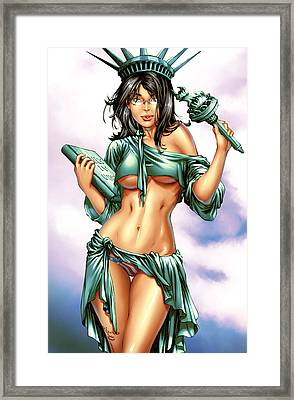 Grimm Fairy Tales 2012 Giant Sized Edition Nycc Exclusive Framed Print by Zenescope Entertainment