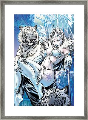 Grimm Fairy Tales 22 Framed Print by Zenescope Entertainment