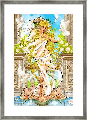 Grimm Fairy Tales Godstorm 02d Framed Print by Zenescope Entertainment