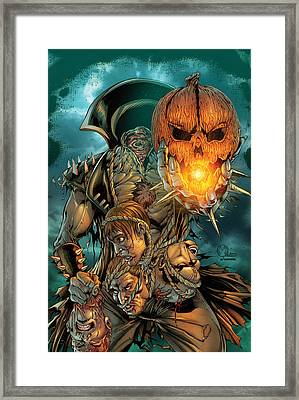 Grimm Fairy Tales Presents Sleepy Hollow 02a Framed Print by Zenescope Entertainment
