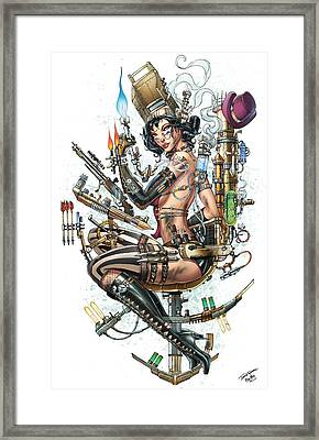 Grimm Fairy Tales Unleased Hunters 03d Framed Print by Zenescope Entertainment