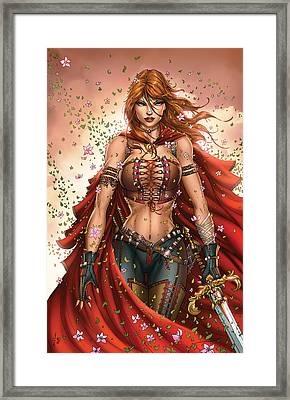 Grimm Fairy Tales Unleashed 04c Belinda Framed Print by Zenescope Entertainment