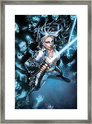 Grimm Fairy Tales Unleashed Demons 01b Framed Print by Zenescope Entertainment