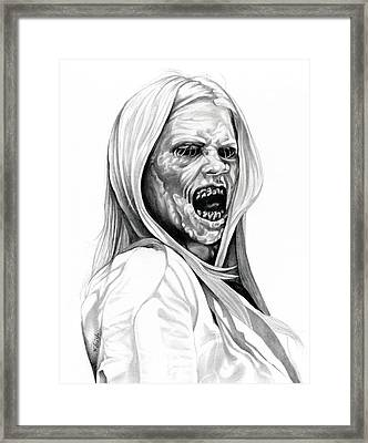 Grimm Hexenbiest Framed Print by Fred Larucci