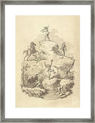 Grimm Story Framed Print by British Library