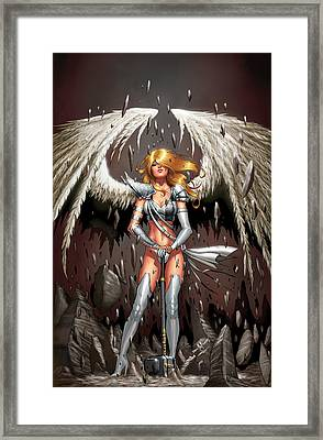 Grimm Universe 01b Framed Print by Zenescope Entertainment