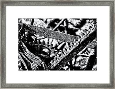 Framed Print featuring the photograph Grind by Michael Hope