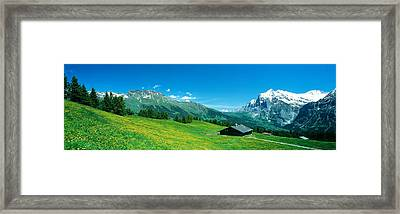 Grindelwald Switzerland Framed Print