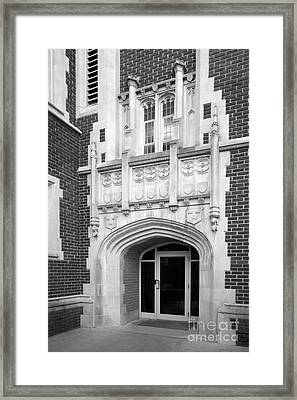 Grinnel College Collegiate Entryway Framed Print by University Icons