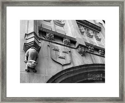 Grinnell College Detail Framed Print