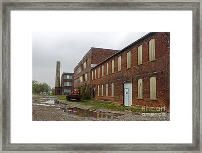 Grinnell Iowa - Aulding Building - 02 Framed Print by Gregory Dyer