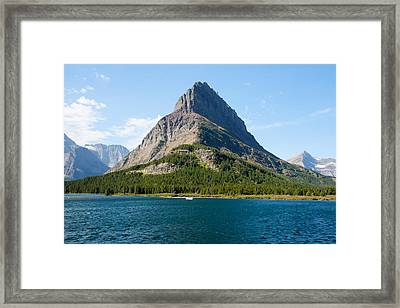 Grinnell Point Framed Print by John M Bailey