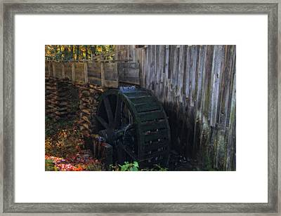 Grist Mill Cades Cove Framed Print