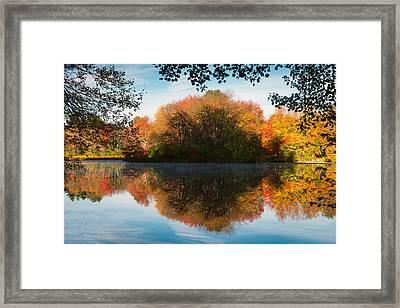 Grist Millpond Framed Framed Print